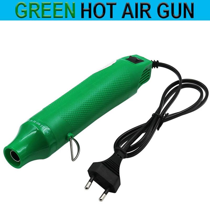 1db 220V EU dugós elektromos forró levegős pisztoly / - Elektromos kéziszerszámok - Fénykép 5