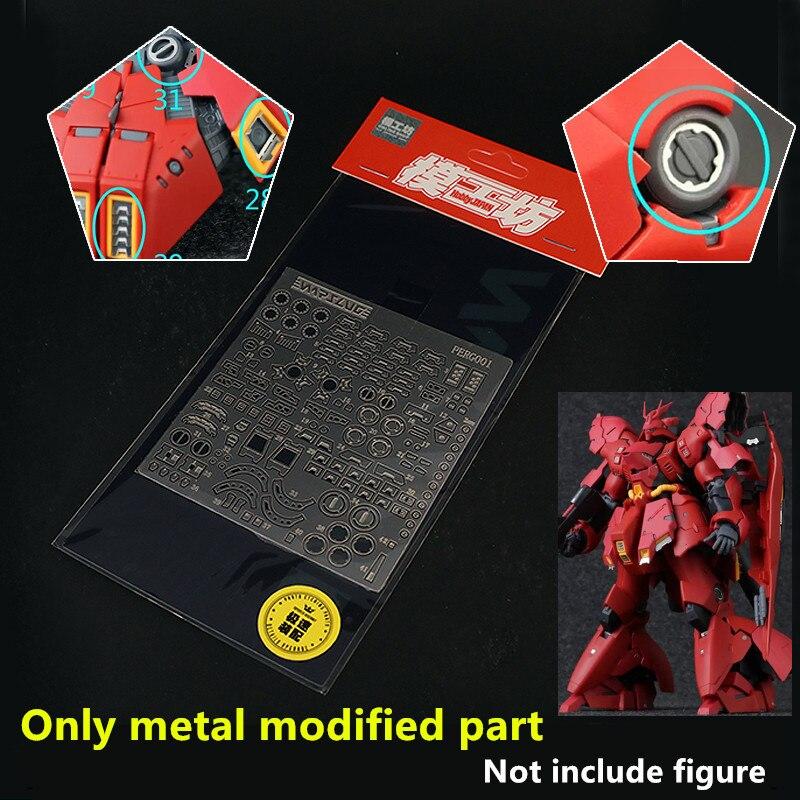 Warslugx modelo metal modificado peças para bandai rg 1/144 MSM-07 zgogok gundam dm029