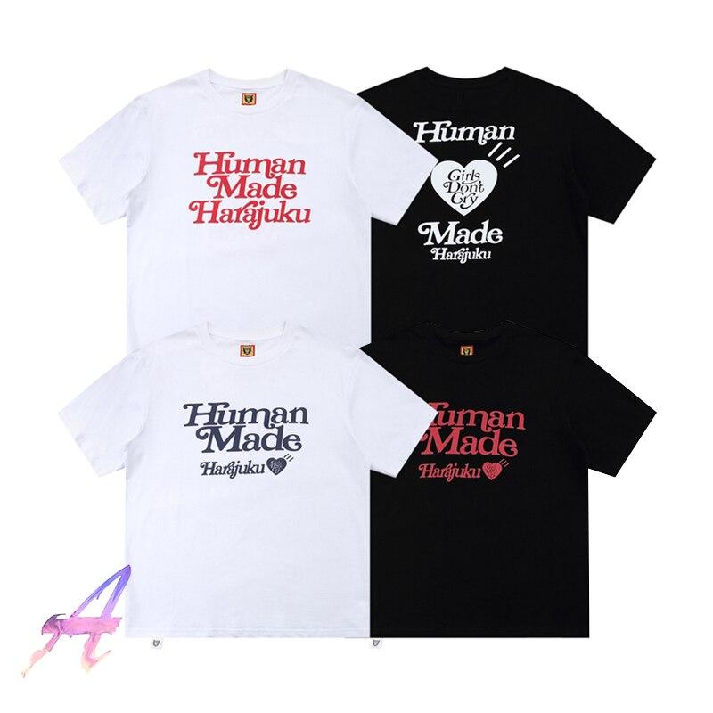 Сделанные Человеком футболки для девушек, не плачут, высокое качество, открытые, ограниченные объемы, топы для влюбленных, мужские и женские...