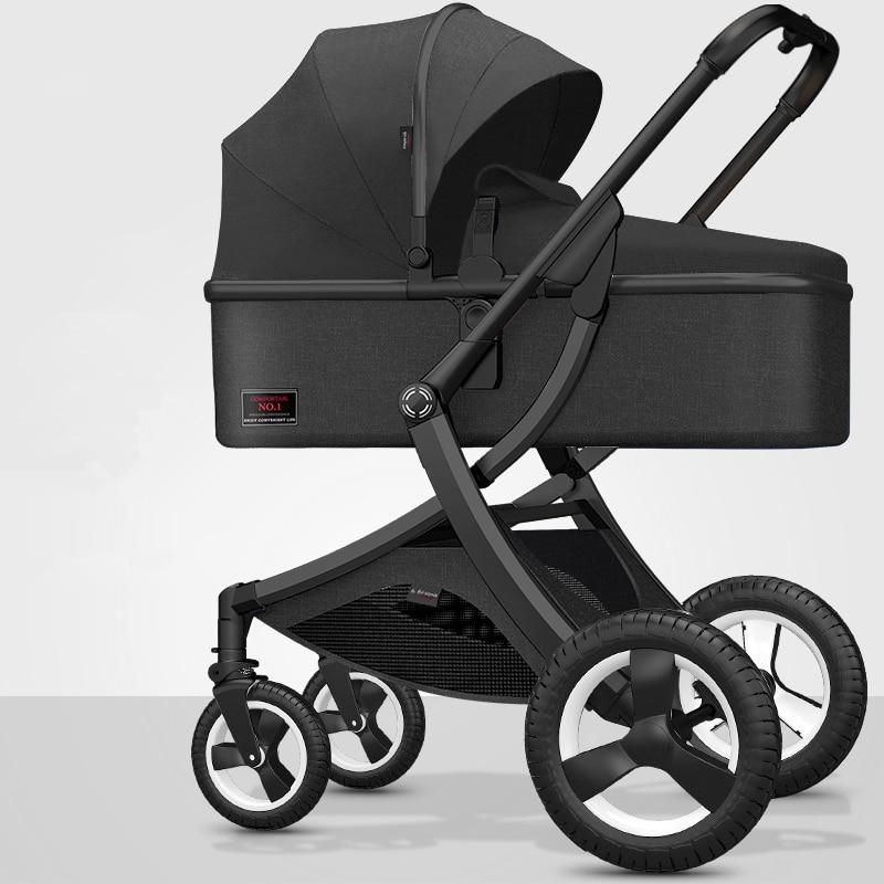 8.9Kg Adjustable Luxury Baby Stroller 3 in 1 Portable High Landscape Luxury Stroller Hot Mom Pink Stroller Travel Pram Pushchair