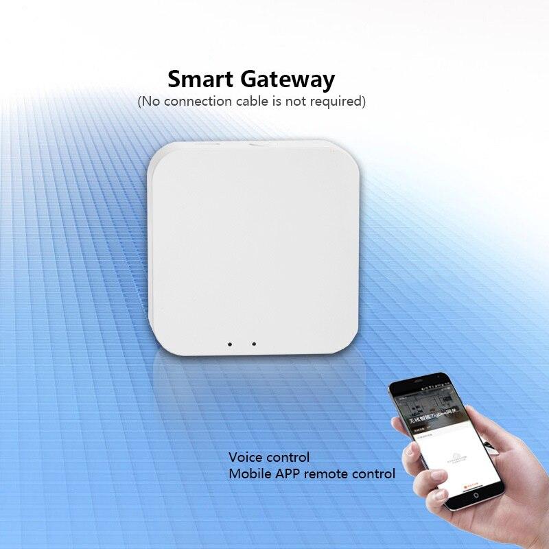 مصغر زيجبي لاسلكي ذكي بوابة نظام التحكم المنزلي الذكي الربط اللاسلكي زيجبي بروتوكول جهاز بوابة الذكية