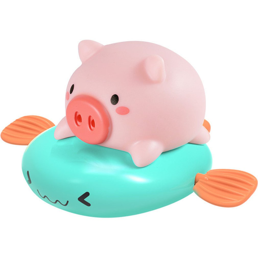 Фото - Baby Bathing Toy Clockwork Swimming Small Float and Play Bubbles Bath Toy Summer Play Water Toys Children'S Toys small beginnings say and play