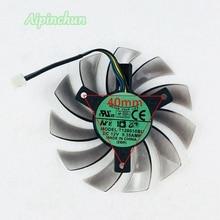 Nuevo ventilador refrigerador VGA de 75MM T128010SU 40mm 12V 0.35A para Gigabyte Geforce GTX770 GTX780 GTX760 GTX680