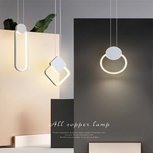Nordic modern bedroom bedside chandelier living room sofa LED ceiling lamp aisle balcony lighting factory direct sales