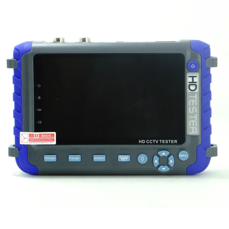 IV8C Professional CCTV camera monitor CCTV testing tool 5 Inch display 8MP AHD TVI 8MP CVI CVBS CCTV Camera Tester Monitor PTZ