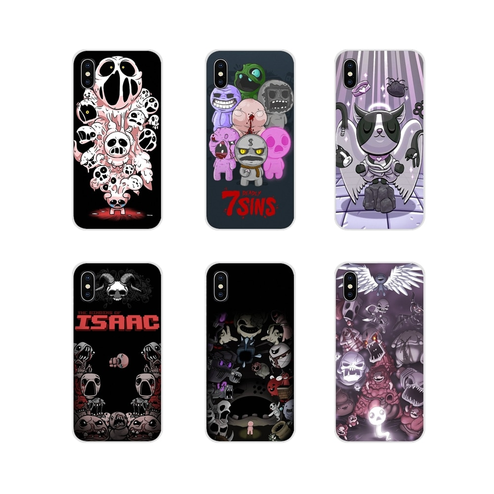 the binding of isaac For Apple iPhone X XR XS 11Pro MAX 4S 5S 5C SE 6S 7 8 Plus ipod touch 5 6 Accessories Phone Cases Covers