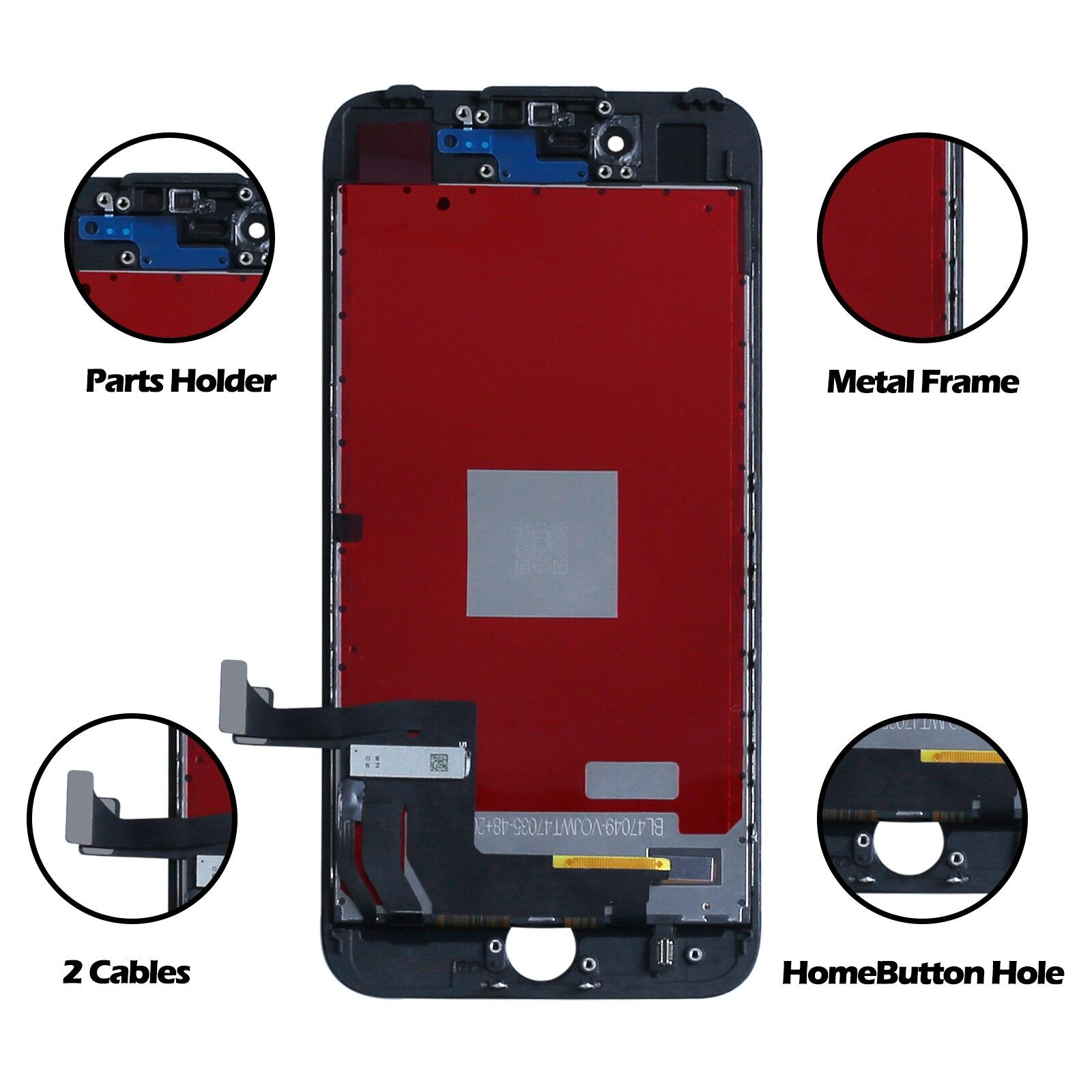 SE2 قطع غيار للشاشة LCD ل SE2020 مجموعة المحولات الرقمية لشاشة تعمل بلمس عدة أدوات العرض لا كاميرا زر المنزل SE2 LCD