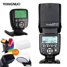 YONGNUO YN560III YN560-III YN560 III flash inalámbrico speedlite YN560-TX II disparador para Canon Nikon Olympus Pentax, Fuji Cámara