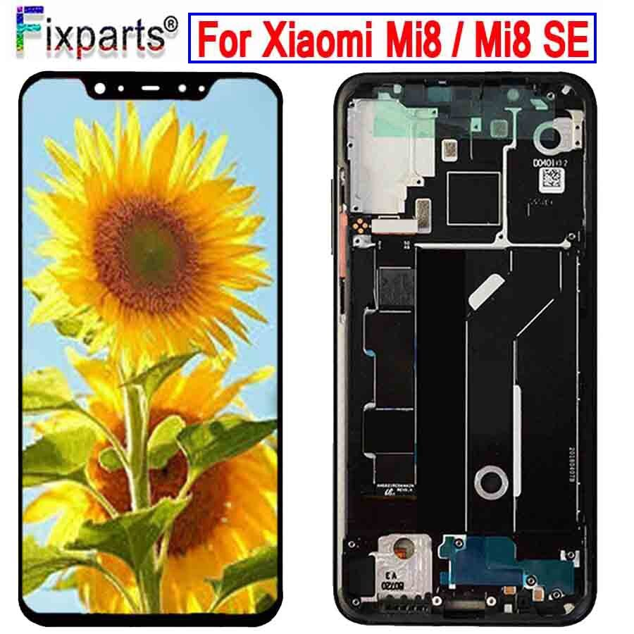 "Pantalla Amoled para Xiaomi Mi 8 LCD pantalla digitalizador montaje pantalla táctil de reemplazo 6,21 ""para Xiaomi Mi8 LCD Mi 8 SE LCD"