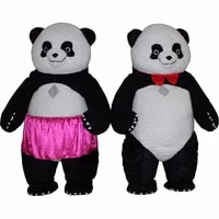 2m3m halloween inflatable chinese panda mascot costume cosplay party game dress advertising customize adult for 1 7m to 1 88m