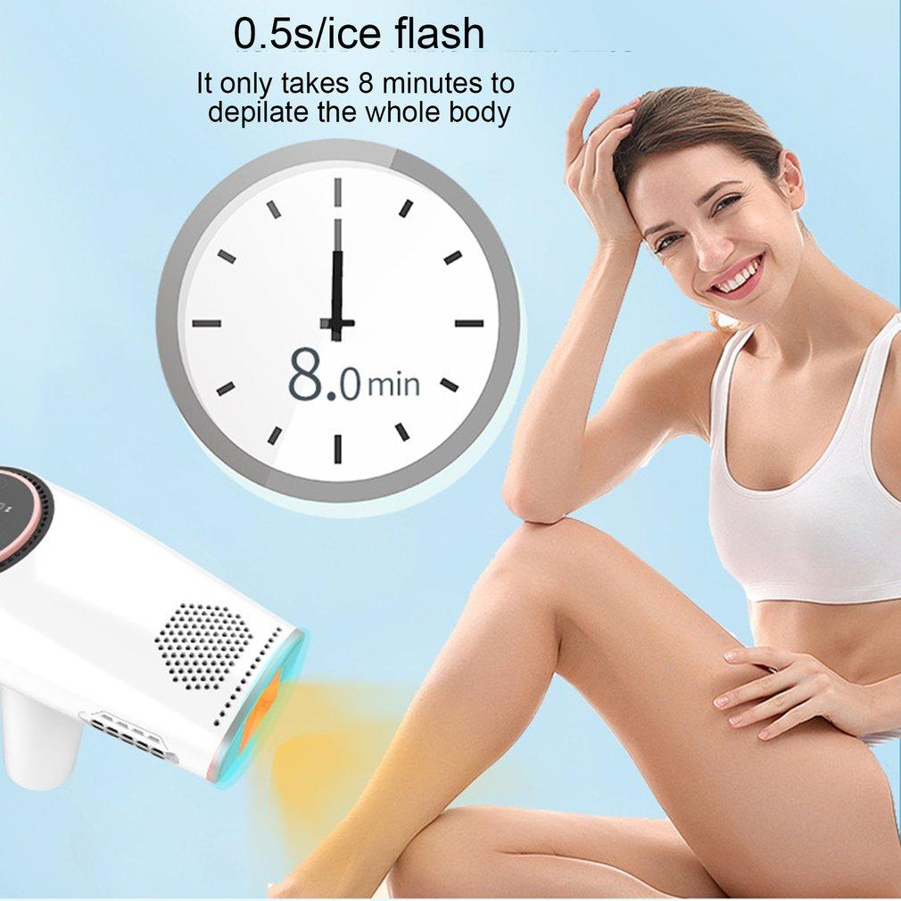 Epilator Portable Ice-sensing Whole Body Lip Hair And Armpit Hair Epilator Household Multifunctional Epilator enlarge
