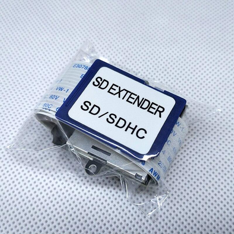 Cabo De Extensão para Cartão SD para SD Adaptador de Cartão de Leitura Flexível Extender MicroSD Para SD/SDHC/SDXC Para Carro cabos de Dados Do Telefone Móvel GPS