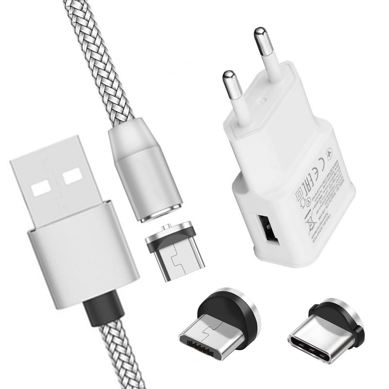 Magnetic Charge Cable For Samsung Galaxy S8 A51 A50 A52 A72 5G A12 A02S A10 Phone charging Adapter u