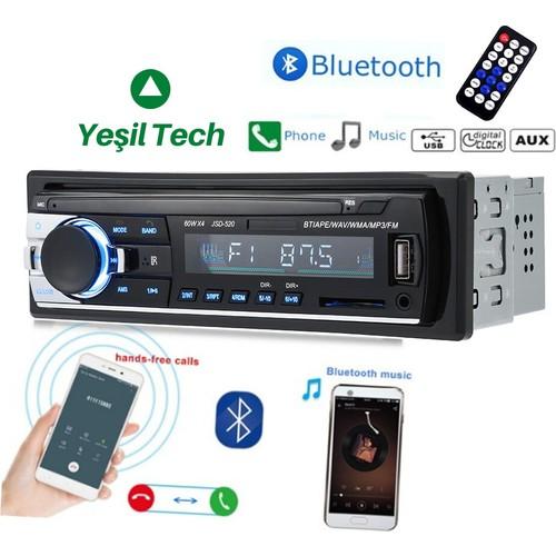 Car Auto Tape 4*60 w Bluetooth USB Sd Aux radio Stereo player Digital car MP3 60 Wx4 FM Radio