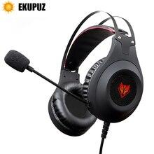 EKUPUZ N2 Del Computer Stereo Gaming Cuffie Auricolari headset gamer per il Telefono Mobile PS4 Xbox PC Cuffia con microfono Auricolari