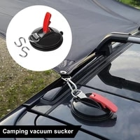 12pcs suction cup anchor with s hook tie down camping tarp accessories car side awning securing hook mount anchor for car trunk
