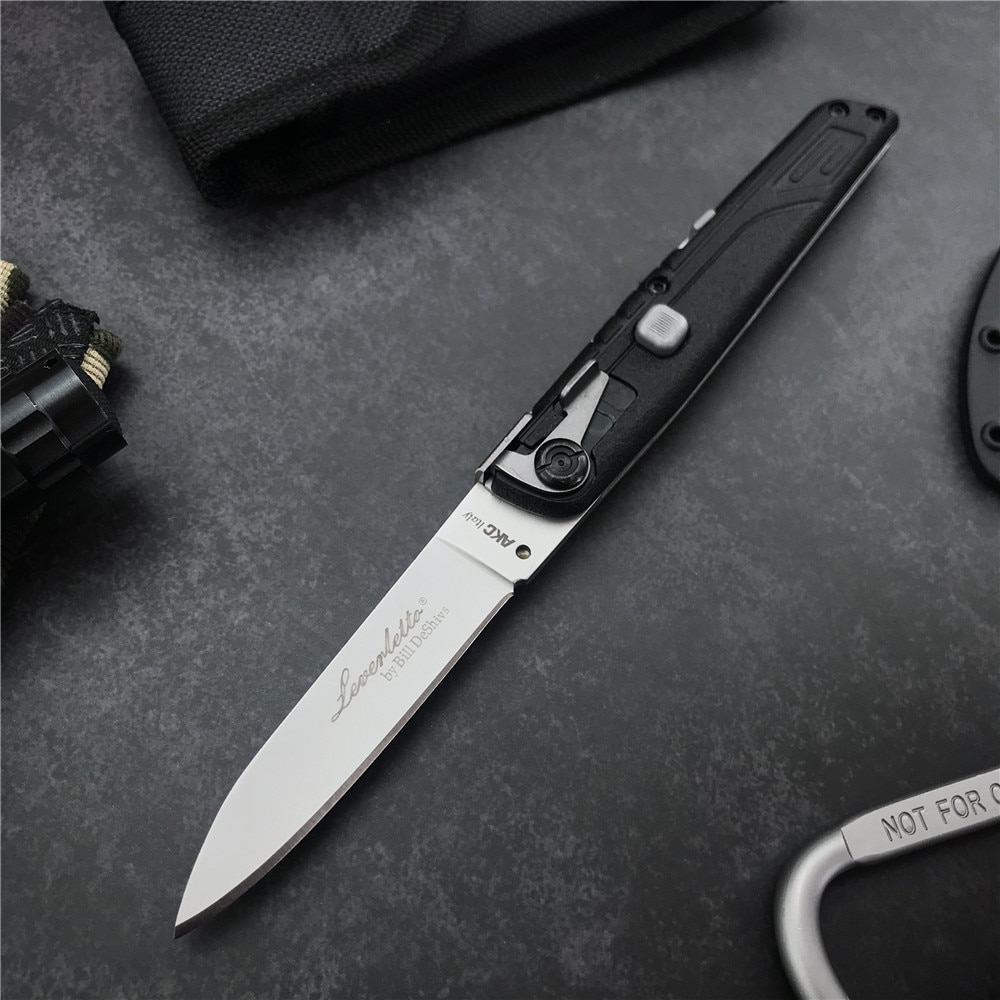 Тактический нож Coltsock II AKC 440C с острыми лезвиями, ручка из нейлона и стекловолокна, походный охотничий нож для повседневного использования, п...