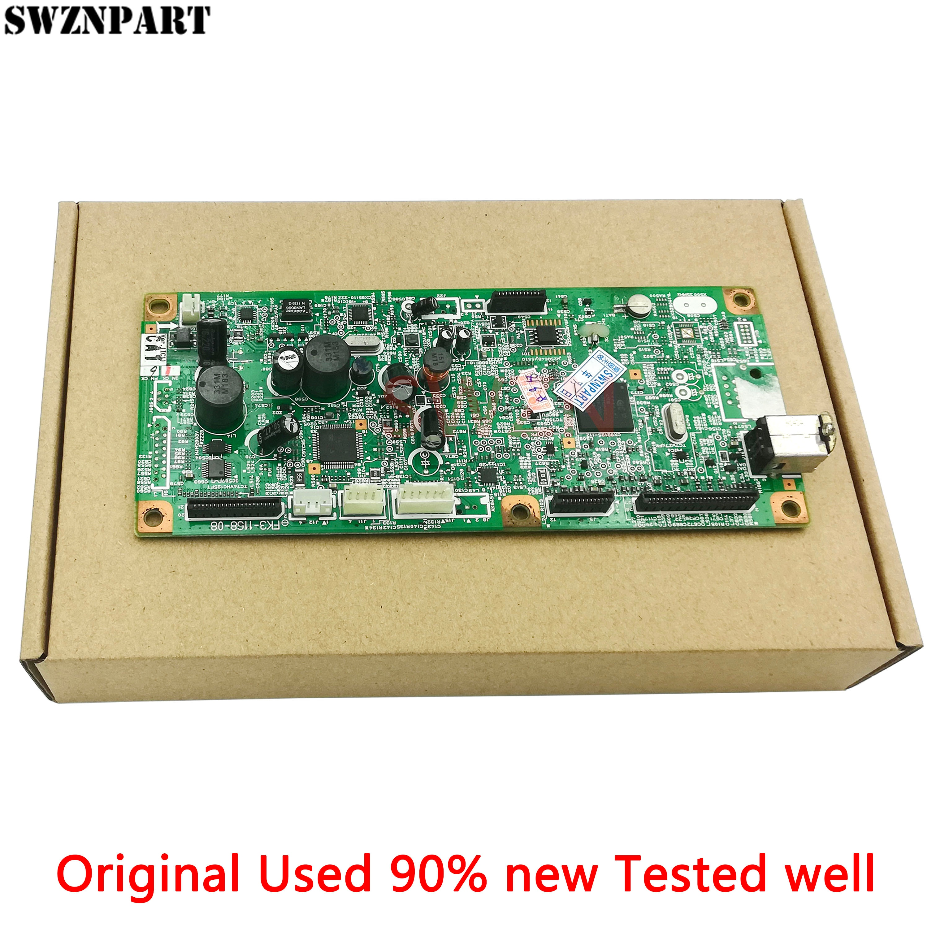 Formatter pca assy placa lógica placa principal placa mãe mainboard para canon mf4550d mf4553d mf4554d FM4-7166 FM4-7167