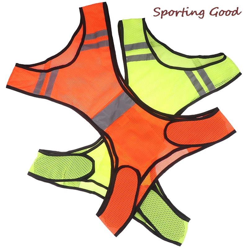 Cycling Reflective Vest LED Running Outdoor Safety Jogging Breathable Visibility  Outdoor Night Riding Running Sports Vest outdoor cap reflective baseball hat night running and riding safety