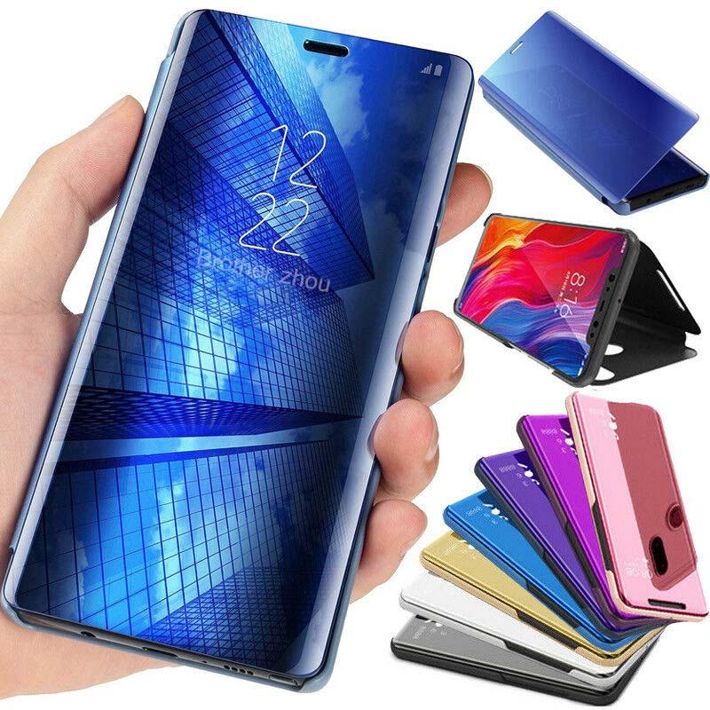 Funda para Samsung Galaxy A30 A20 A10 A50 A70 para Samsung glaxay a30 20 10 50 70 A30s A40s A50s A80 M10 M20 M30 caja del teléfono espejo