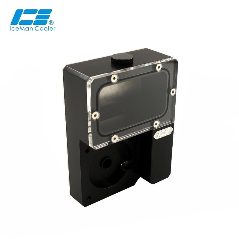 Iceman-مبرد متكامل لـ Ncase chدبليو ، M1 V4 V5 V6 ، Ncase Tank ، Black Water Tank ، 125x89x41MM