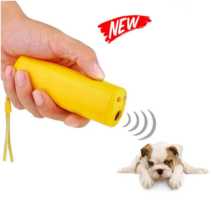 Pet Stop Barking Device Ultrasonic Anti Bark Powerful Ultrasonic Doog Repelent