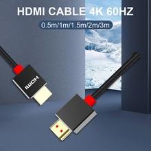 HDMI кабель-Переключатель HDMI на HDMI ultra hd 4K 60Hz шнур для lg b9 smart TV LCD ноутбука для Ps5 HDMI 2,1 проектора 8K hdmi Kabel