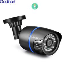 Gadinan 5MP SONY IMX335 Hi3516EV300 4MP Audio POE IP Kamera Outdoor CCTV Überwachung Kugel Kamera IR Leds P2P ONVIF 48V POE
