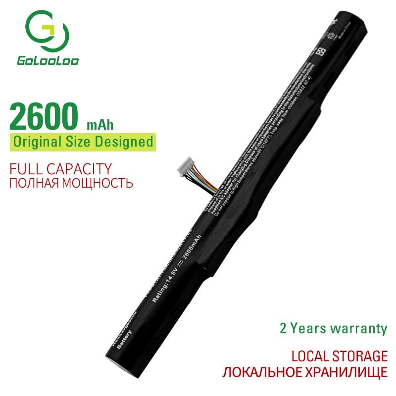 Golooloo AL15A32 Аккумулятор для ноутбука ACER Aspire E5-422G E5-472G E5-473G E5-522G E5-532G E5-573G E5-722G V3-574G E5-422 E5-472