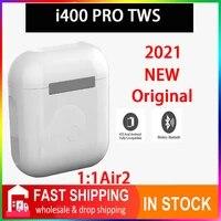 original i400 pro tws 11 gps rename wireless bluetooth headsets pk i7 i11 i14 i15 i16 i18 i30 i10 i20 i1000 plus i5000 i9000pro