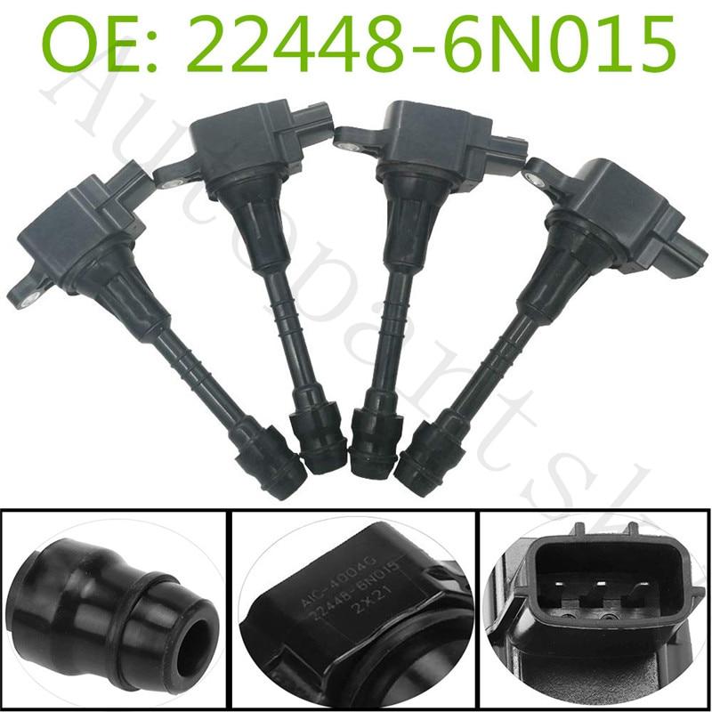 Ignitions Coil 22448-6N015 For Nissan Almera / Avenir / Sunny / Primera / Sentra / Cube / Bluebird UF351 DW01659 224486N015