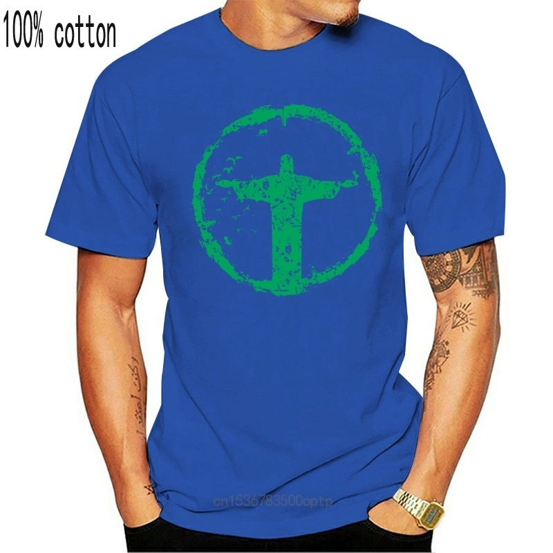 New 2021 2021 Summer Men Jesus Brazil Tshirt Religion Mens Lord God Believer Bible Graphic Tee S-3XL Casual Tee Shirt