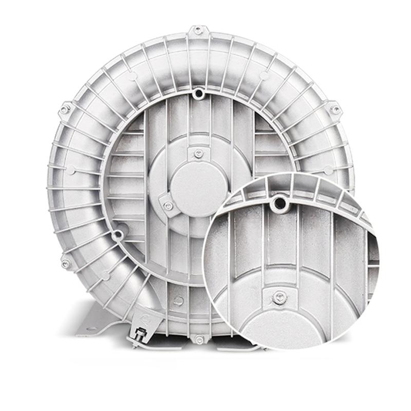 Ventilador vórtex de alta presión de 180W/250W, bomba de aire Vortex de aluminio para aviación, soplador potente, bomba centrífuga de presión, aireador de estanque de peces
