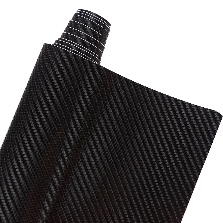 4D Carbon Fiber Vinyl Car Wrap Sheet Roll Film Car Sticker Motorcycle Auto Styling FOR Bentley Flying Spur Arnage R Azure Hybrid