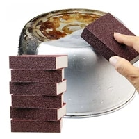 kitchen accessories emery sponge sponge for removing rust cleaning cotton tools descaling clean rub pot kitchen gadgets