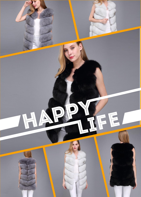 women's vest real fur vest 70 cm diagonally fox fur vest fur vest natural fur women's winter jacket real fur gilet fur coat fur фото
