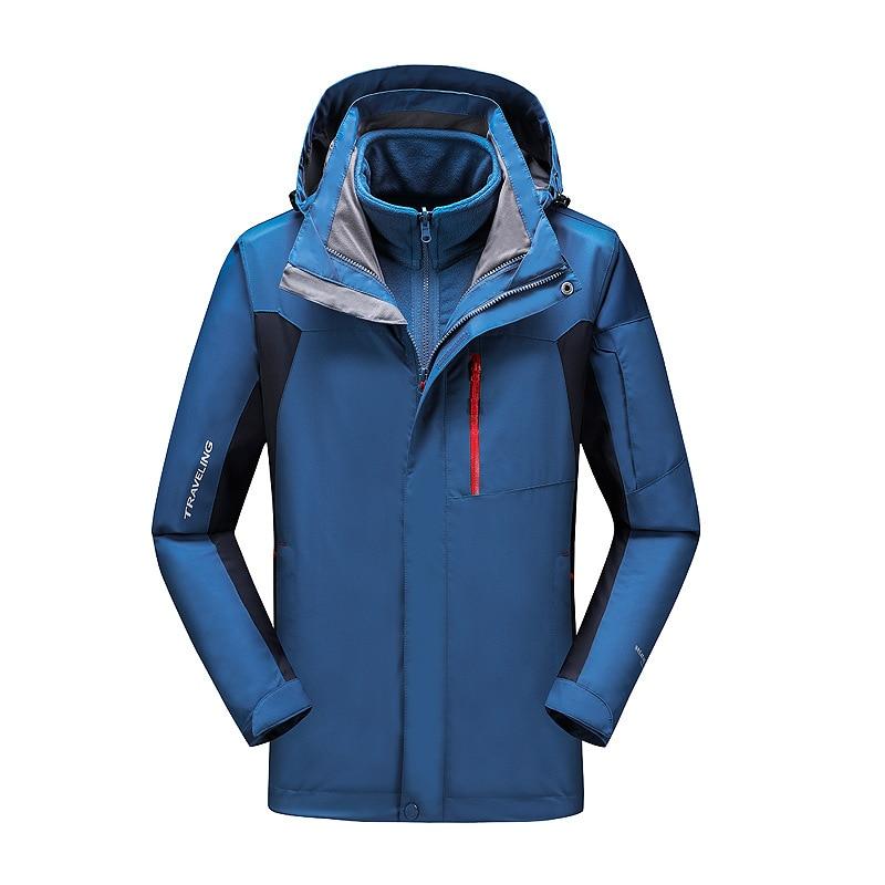 Wear Suit Ski Clothes Men Coat Windproof Snowboard Jacket Skiing Snow Clothes Women Ski Set Ropa Nieve Winter Jackets BJ50HX