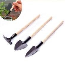 Outils de jardin Mini ensemble de trois pièces de petite pelle râteau pelle outils de plantation