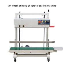 220V Vertical sac en plastique automatique Machine de cachetage FRD-1200V roue dencre impression automatique Film PE sac épais sac Machine