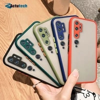 case for xiaomi mi note 10 pro candy color camera protection skin touch soft cover on for xiaomi mi note 10 lite mi note10 pro