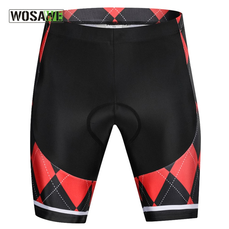 WOSAWE Motorcycle Cycling Shorts Lightweight Short Pant High-Density 3D GEL Pad for Long Time Ride Downhill MTB Road Bike Shorts enlarge