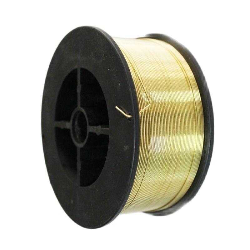 5KG 0.8mm Bare BRASS Brazing Rods / Wire Welding