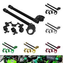 Jeu de embouts de guidon protection décrou   Pour k-awasaki Ninja 250/300/350 ZX250R/300R accessoires de moto extérieur