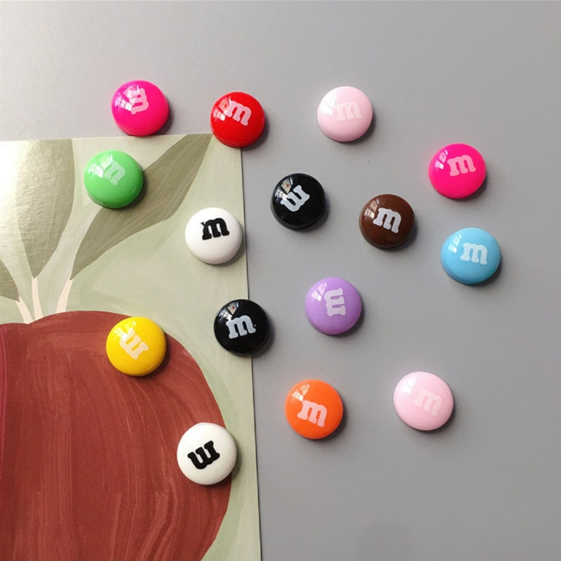 Colorful Candy Fridge Magnets Photo Wall Cute Souvenir Gifts Home Refrigerators Decor Magnetic Stick