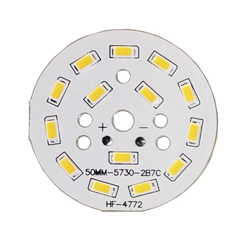10pcs/lot 3W 7W 12W 18W 24W 36W 5730 lamp Bead Brightness SMD  Light Board Led Lamp Panel For Ceiling PCB With LED 10pcs 20 20mm 2m round led channel cable hidden with pendant rope led aluminium profile for 12mm pcb board