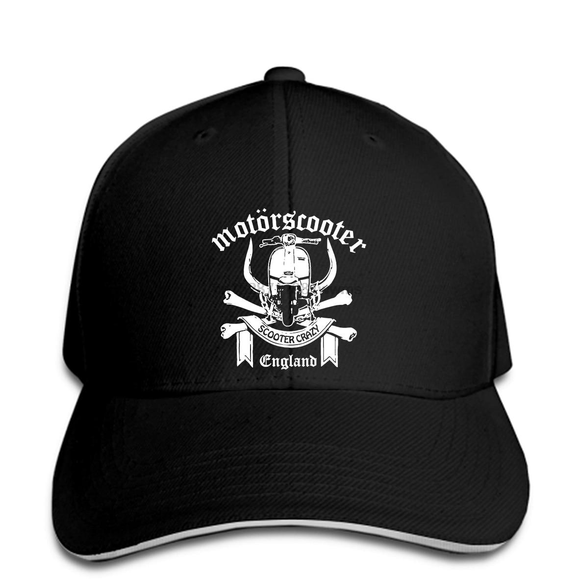 New Brand Baseball cap MOTOR STYLE MOTORSCOOTER Baseball cap SCOOTER BOYS MODS SKINS Summer Fashion snapback hat Peaked