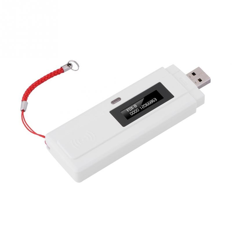 Rechargeable Animal Chip ID Reader microchip Scanner Pet RFID Scanner LED Light with USB interface for dog breeder rfid reader enlarge