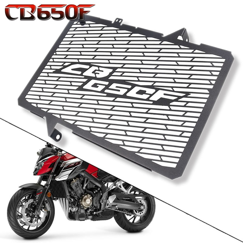 Accesorios de la motocicleta radiador cubierta protectora para parrilla Protector para HONDA CB650F CBR650F CBR 650F CB 650F 2018 CB650R CBR650R 2019