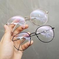 oversized boy girl panda myopia glasses luxury brand design for teenages hign clear lens degree 0 anti blue 50 100 600