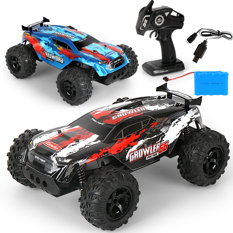 LBLA C14 1:14 RC Car 25km/h 4WD 2.4Ghz Remote Control Crawler Racing Off Road Vehicles Truck Kids To